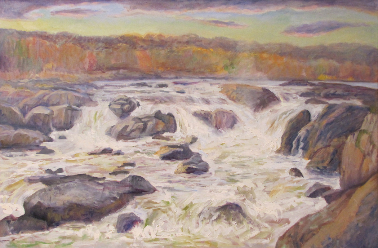 Great Falls in Autumn (Maryland)