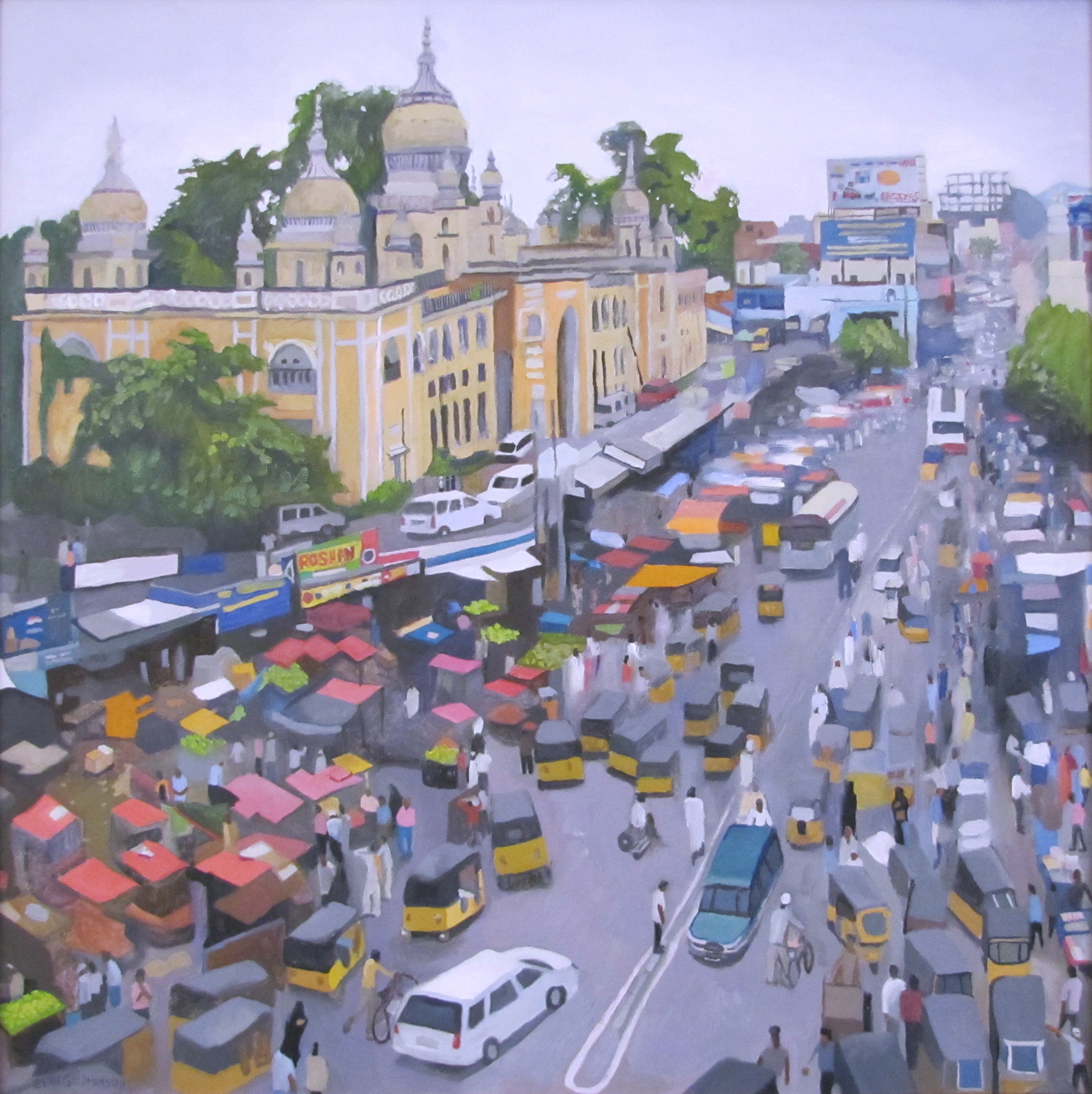 Downtown Hyderabad (India)