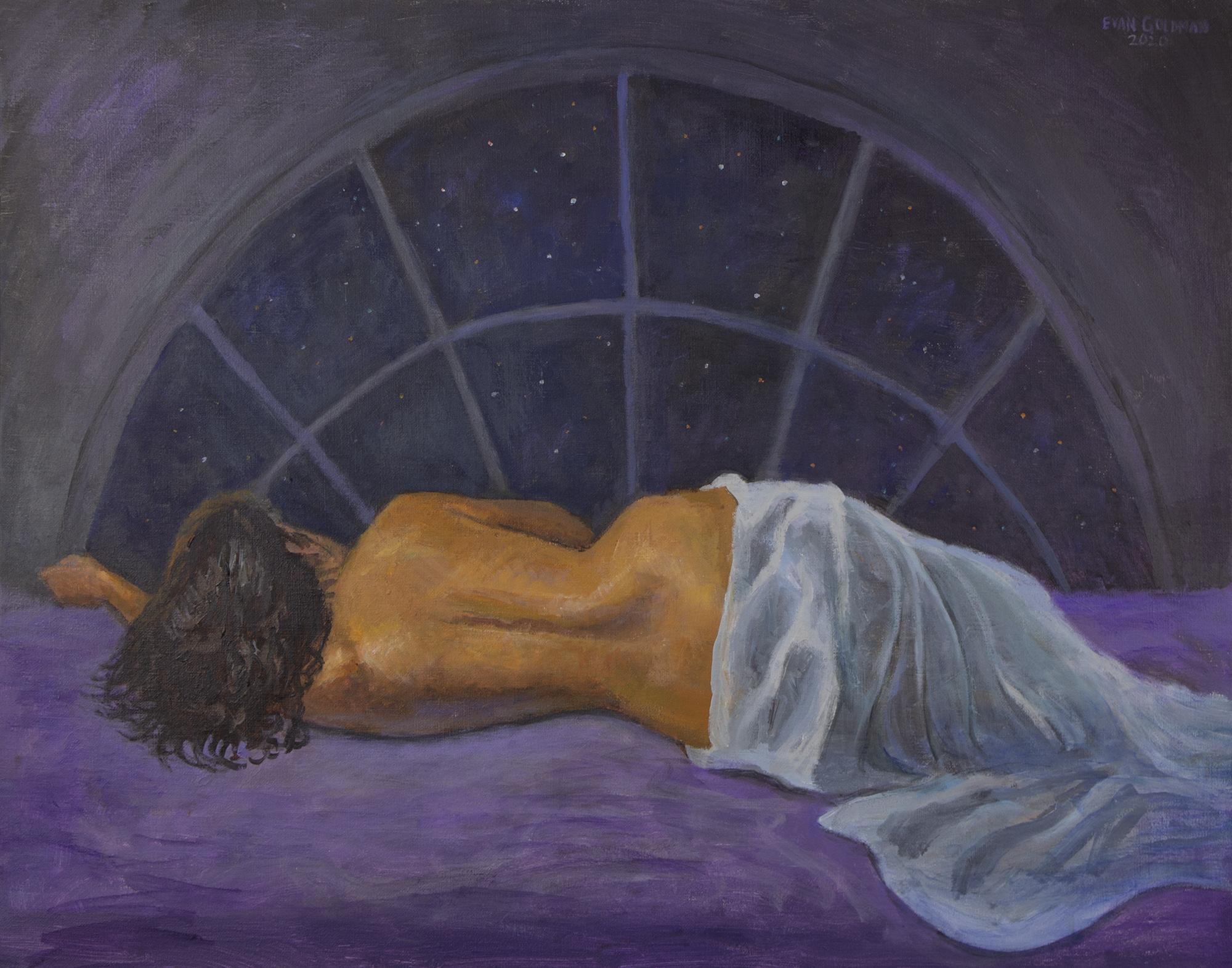 Maria at Night