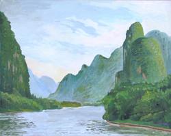 Mountains at Guilin (China)