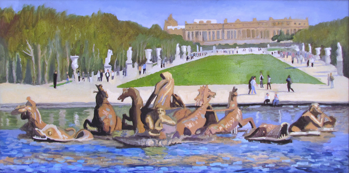 Fountain at Versailles (France)