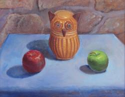 Wicker Owl