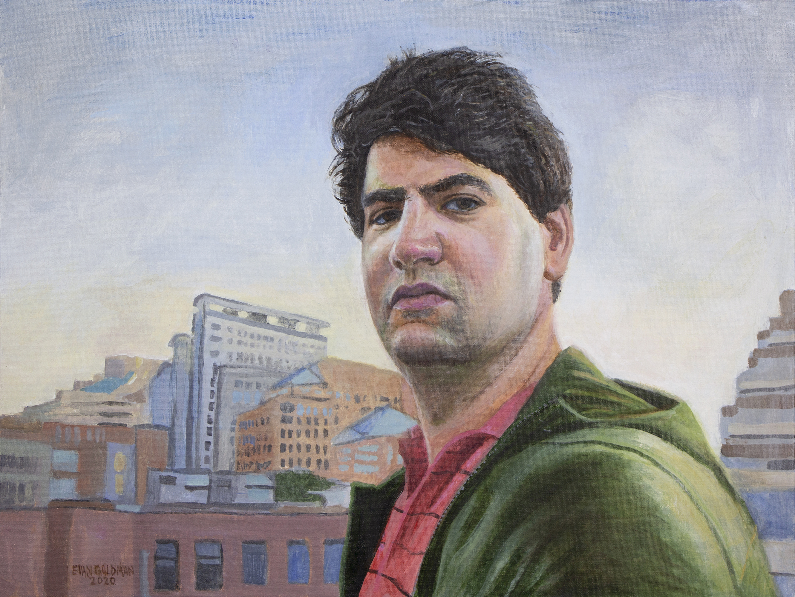 Self-Portrait in Bethesda