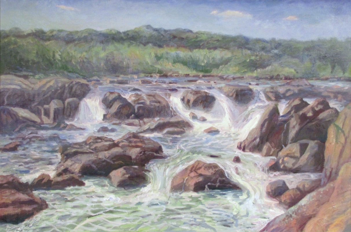 Great Falls in Summer (Maryland)