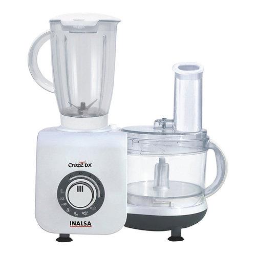 Inalsa Craze Dx 700-Watt Food Processor (White/Grey)