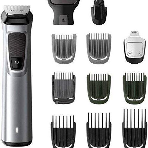 Philips MG7715 Multi-Grooming Kit For Men Cordless Grooming Kit for Men (Silver,