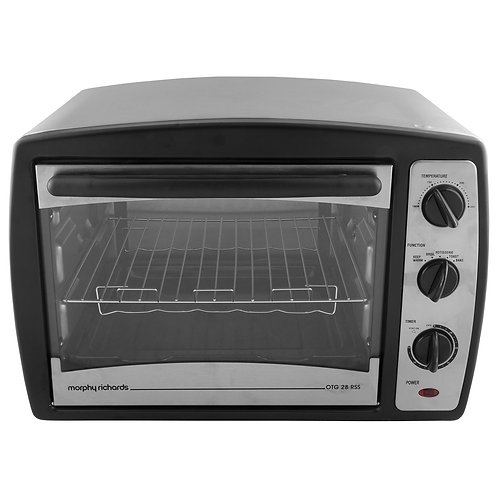 Morphy Richards 28 RSS 28-Litre Stainless Steel Oven Toaster Grill (Black)
