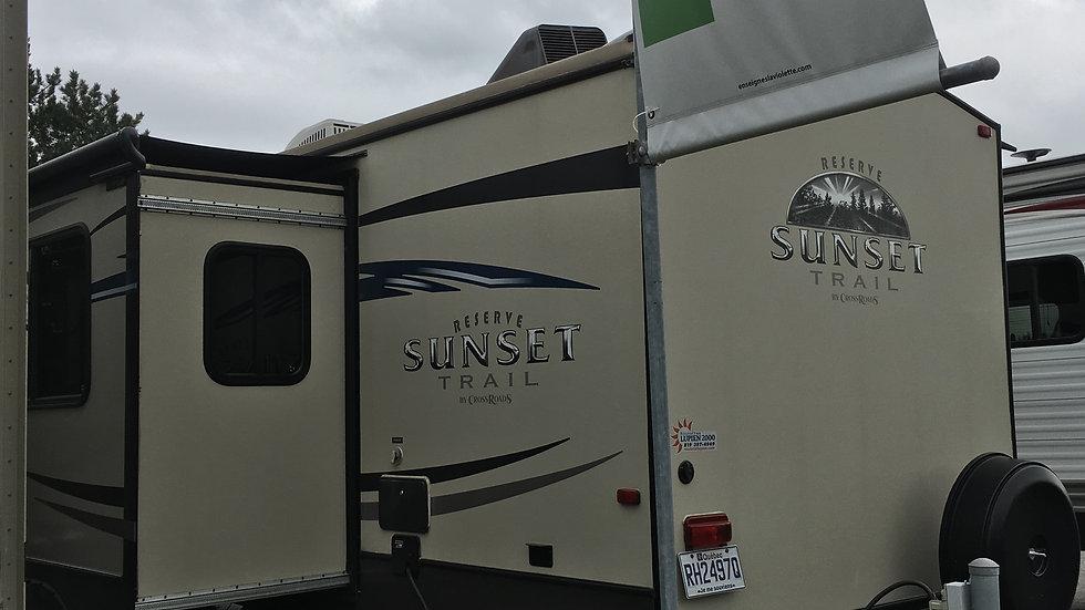 Sunset Trail 2014 26BH // 30 pieds // 19500$ //2013