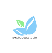 simple logo no background light and gree