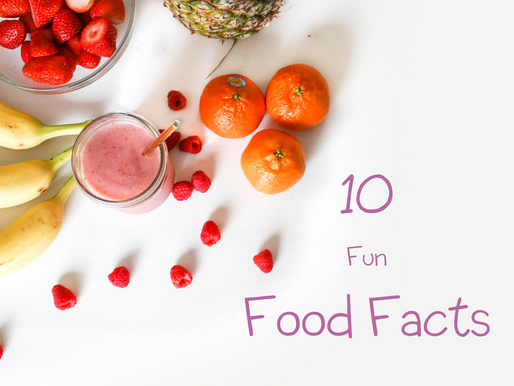 10 Fun Food Facts
