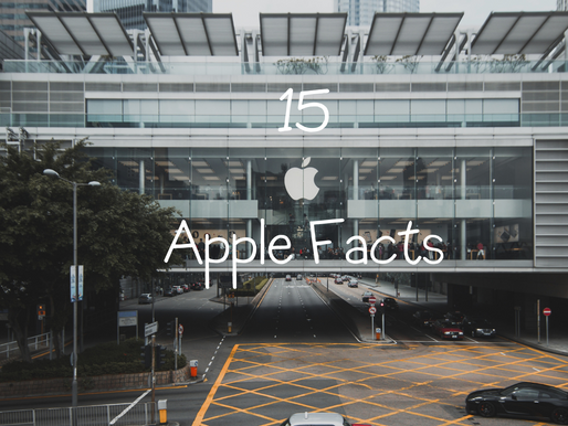 15 Apple Facts