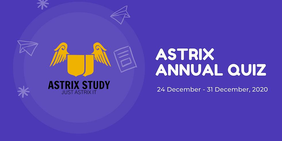 Astrix Annual Quiz
