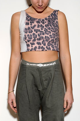 Animalistic Crop Top