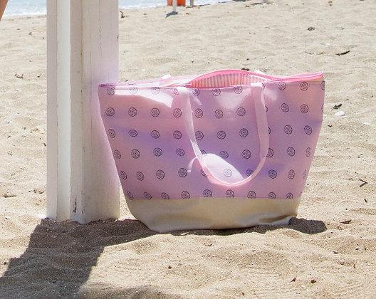 All Set Series | Beach Bag | BabyPink Grafite