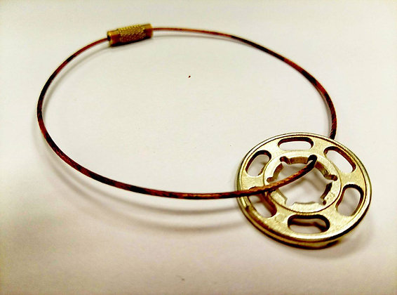 koubi Bracelet | Yellow Brass | RedWire | Female