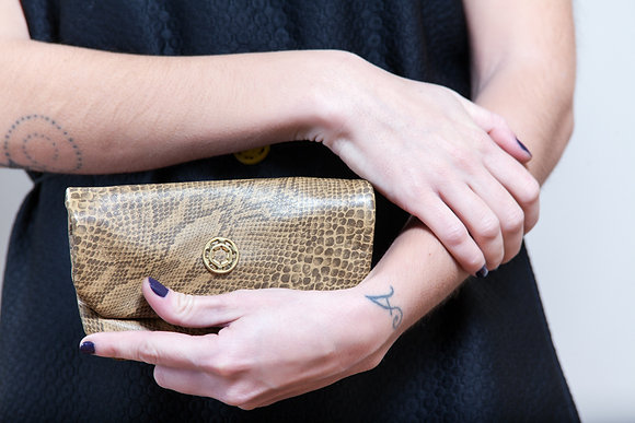 Leather Wallet | Snake