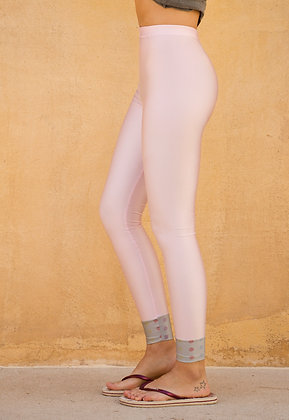 Tights BabyPink Pearle | Hem SilverColor | Freemotion Series