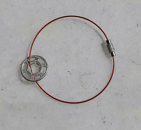 koubi Bracelet | Silver 925 | Ruby Wire | Fem