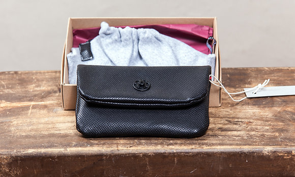 Leather Wallet | Black | Pinned
