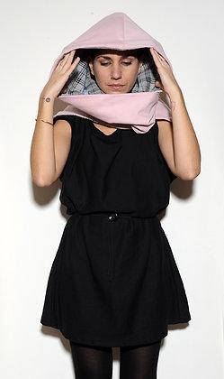 Hood Pink+Gray