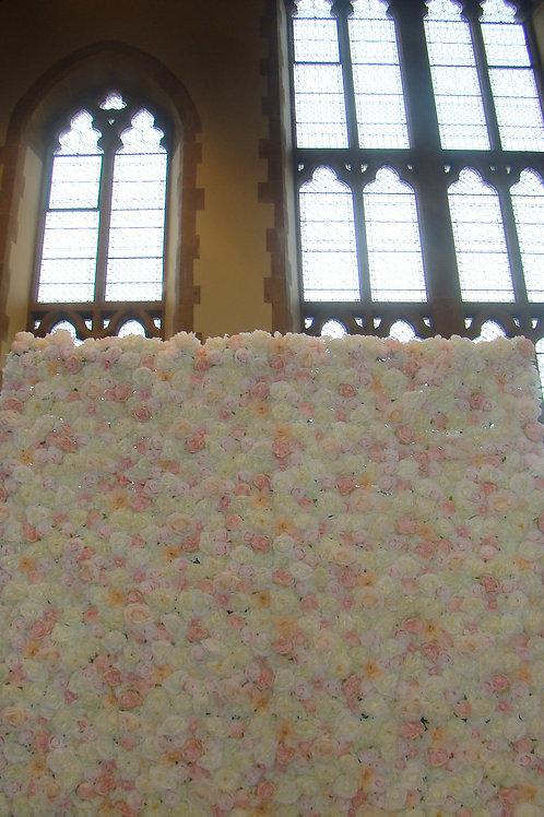 8 x 8 ft Luxury Flower Wall
