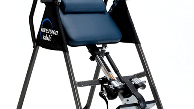 IRONMAN Gravity Highest Weight Capacity Inversion Table with Optional No Pinch A