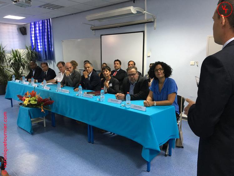 Jean-Michel Blanquer, ministre de l'éducation nationale, La Réunion, 2017