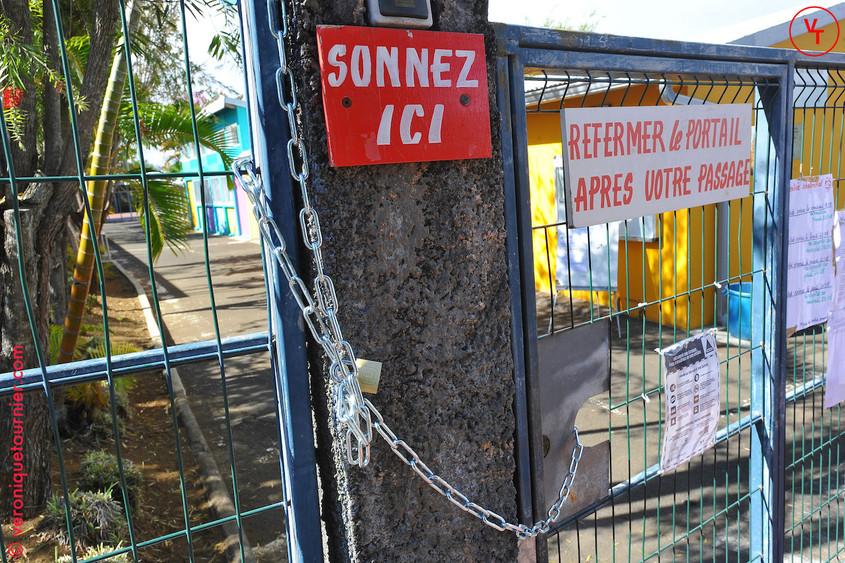 Manifestation des Atsem au Tampon (La Reunion) 2017.