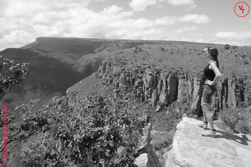 Afrique du sud Le Kruger Parc et ses environs en noir et blanc 2018