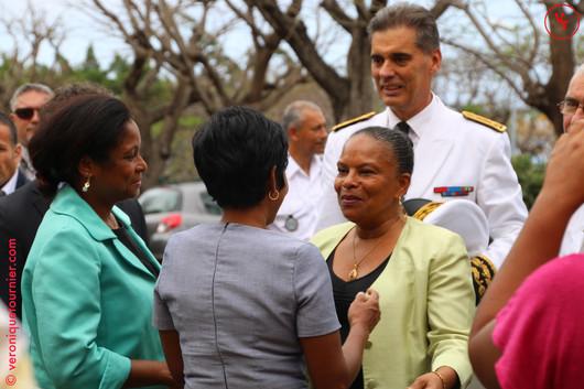 Christine Taubira, Ministre de la Justice, La Réunion, 2014