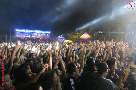 Le public du Sakifo, Saint-Pierre (La Réunion)