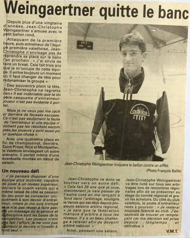 Var-Nice Matin 1997 handball 1997.JPG