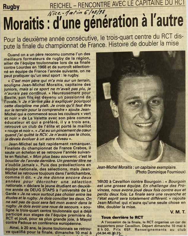 Var-Nice Matin 1998 rugby 06051998.JPG