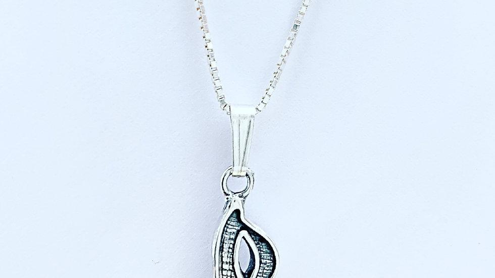 Masquerade necklace in 925 silver