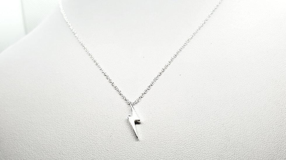 Silver lightning bolt