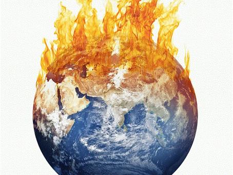 It's Dark & Earth is Hot...