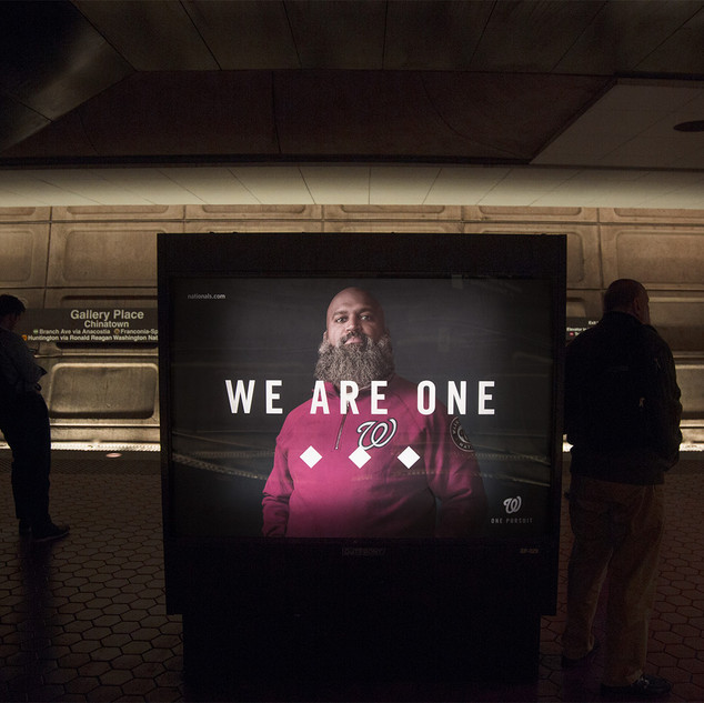 "Washington Nationals ""We Are One"""