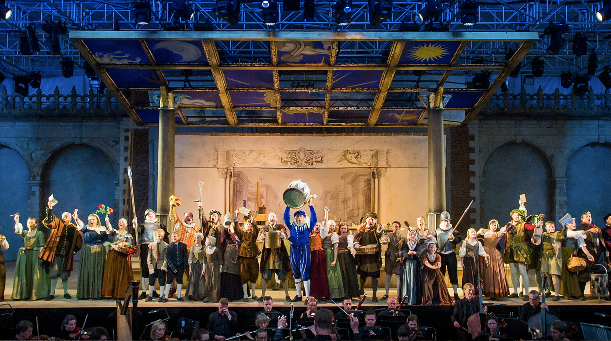 La Bohéme at Holland Park Opera