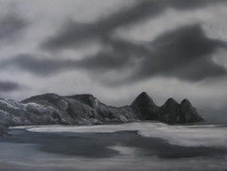 3 Cliffs Bay - developed sketch