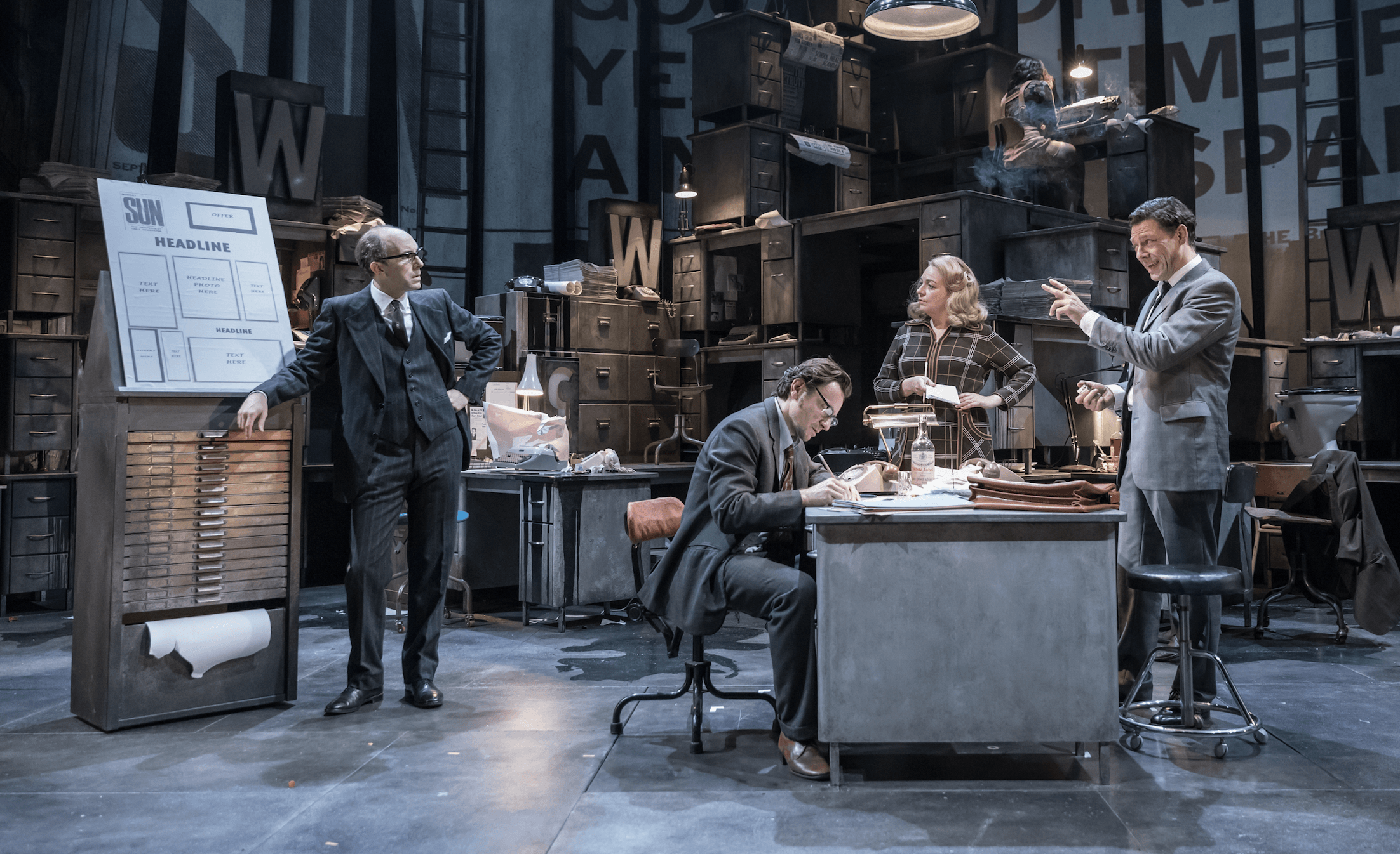 Ink at the Almeida Theatre