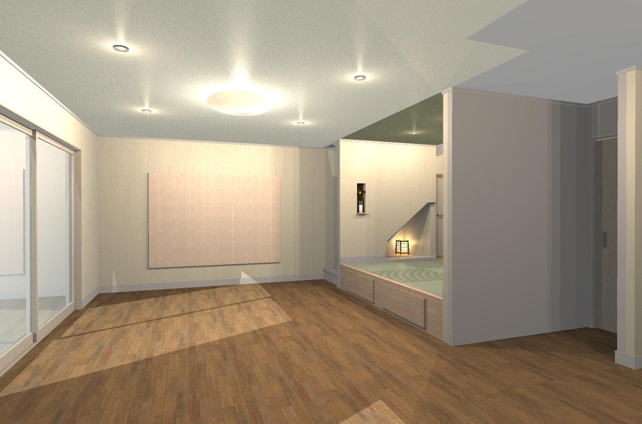新築住宅リビングイメージ