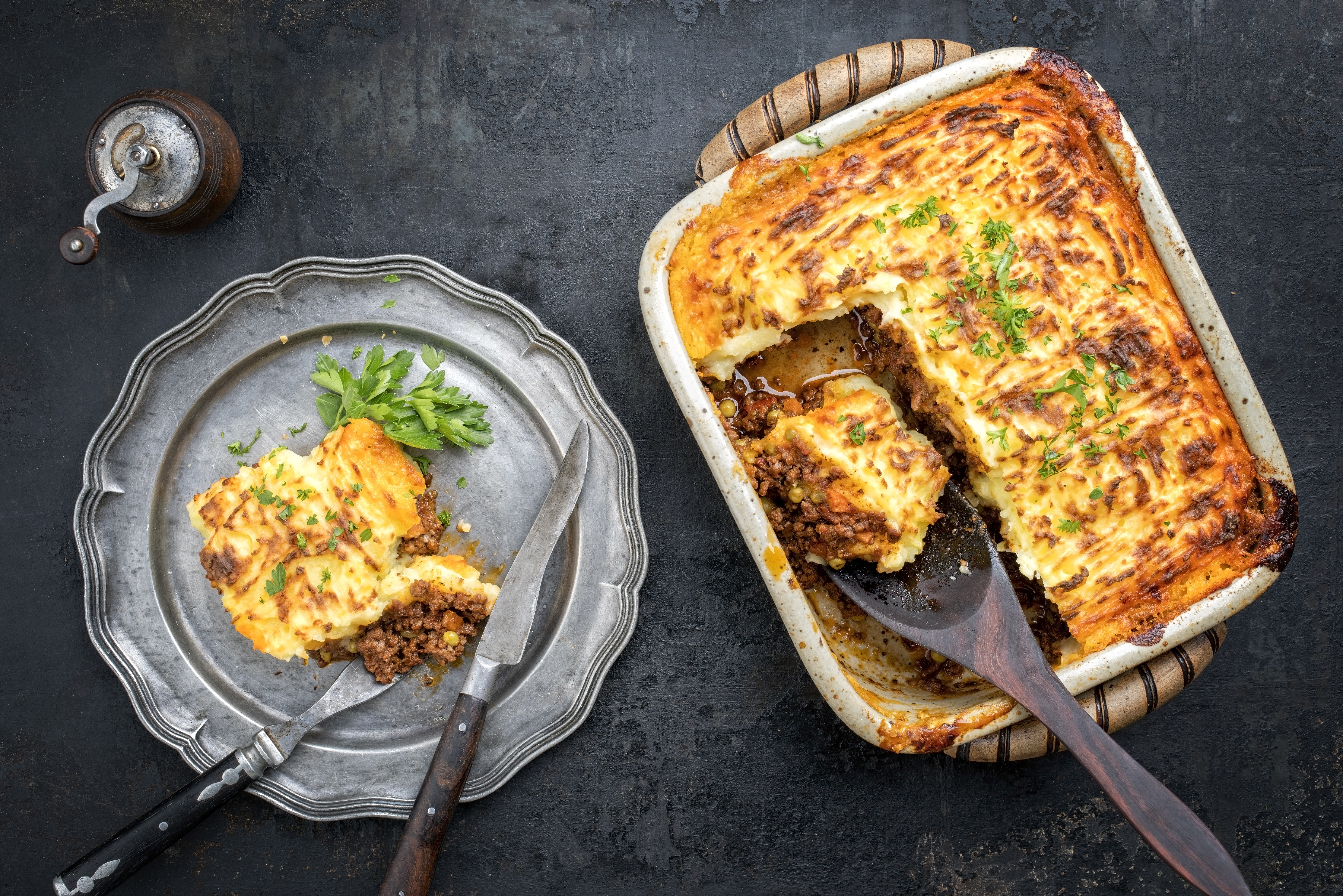 Shepherd's Pie, Cottage Pie
