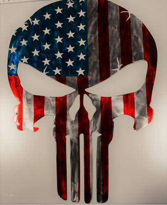 Punisher Flag...(7 Sizes Available)