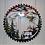 Thumbnail: Sawblade Metal Art Mountain Elk