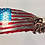 Thumbnail: Tattered Flag w/Navy Seal Trident Logo...(3 Sizes Available)
