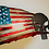 Thumbnail: Tattered American Flag with Punisher...(6 Sizes Available)