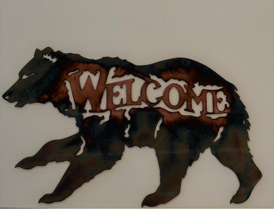 Running Bear Welcome