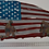 Thumbnail: American Flag Art With Soldiers...(5 Sizes Available)