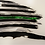 Thumbnail: Tattered Flag Thin Green Line (Game Warden Metal Art)...(6 Sizes Available)