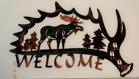 Moose Shed Welcome